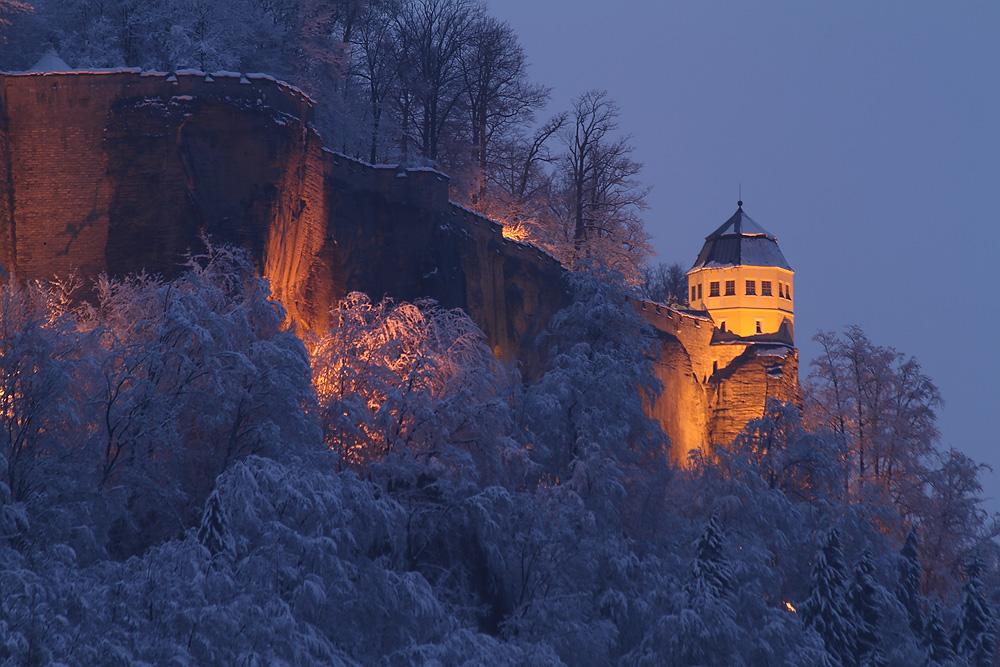 Friedrichsburg im Winter
