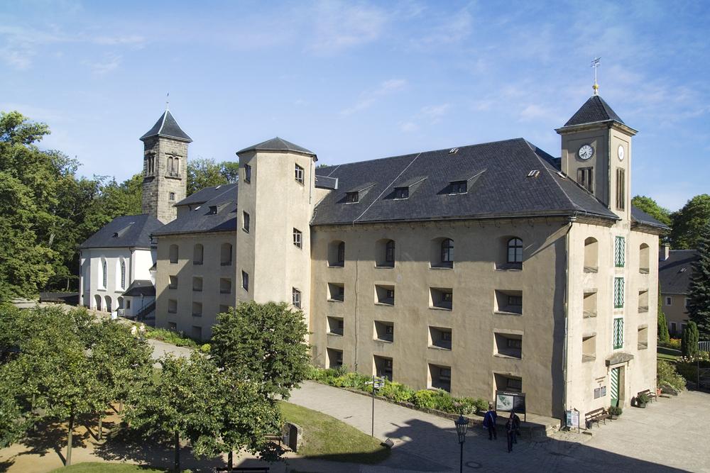Heutige Ansicht der Magdalenenburg
