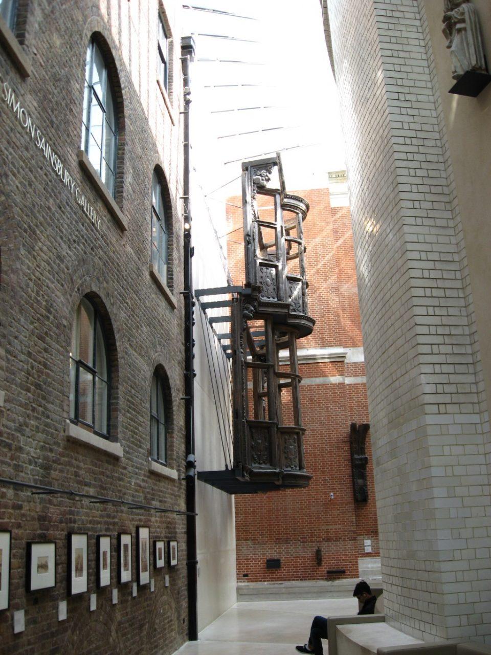 Gang im Victoria & Albert Museum