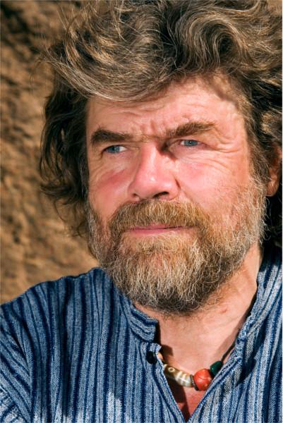Portraitfoto Reinhold Messners