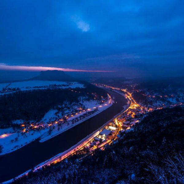 Leuchtende Stadt Königstein