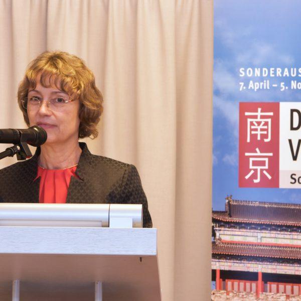 Grußwort von Geschäftsführerin Dr. Angelika Taube
