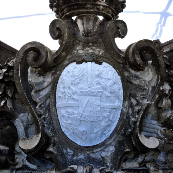 1. Anstrich des Wappens