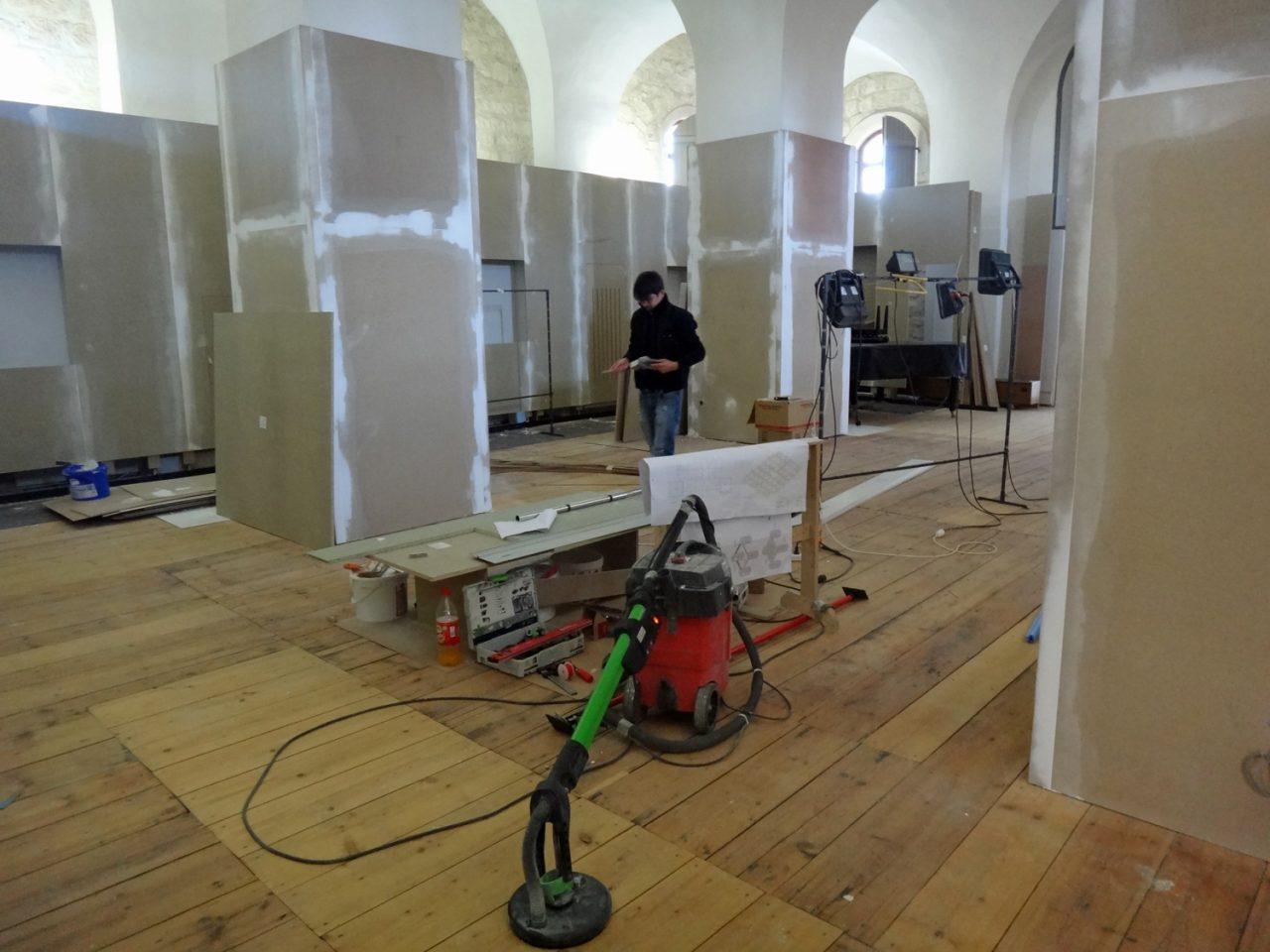 Blick in den neuen Ausstellungsraum