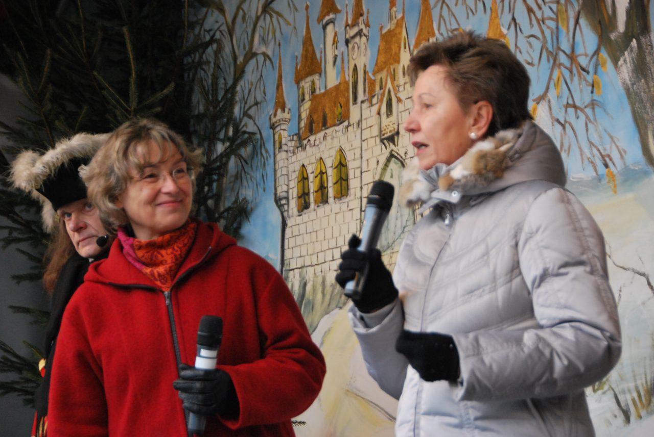 Helma Orosz stellt den Krebshilfeverein Sonnenstrahl vor