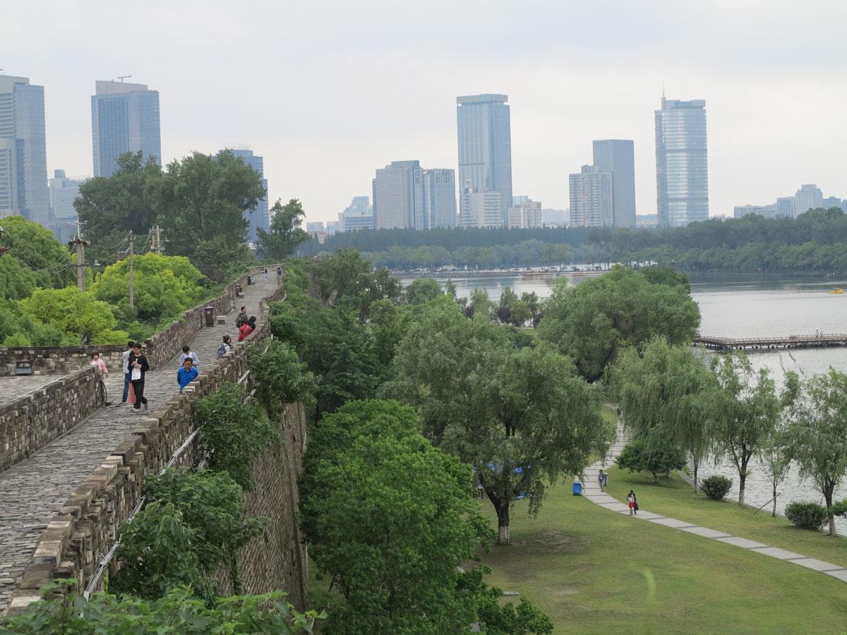 Stadtmauer Nanjing