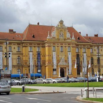 Kunsthistorisches Museum Zagreb - Außenansicht
