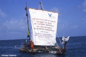 Rüdiger Nehberg-Atlantik-Überquerung mit selbstgebautem Floß