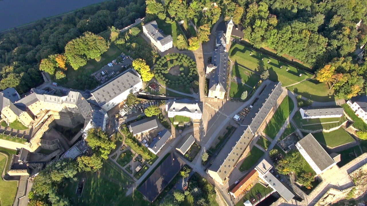 Grünflächen der Festung Königstein