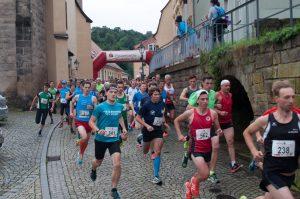 Festungslauf-Start in Königstein