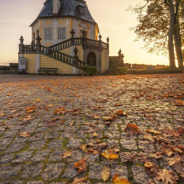 Friedrichsburg & Herbstlaub